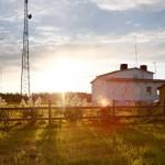 Lidingby Radiostation senare på morgonen